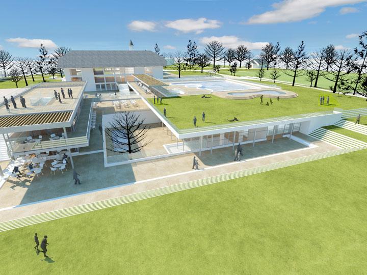 Plan maestro club manquehue plan maestro arquitectos - Proyecto club deportivo ...