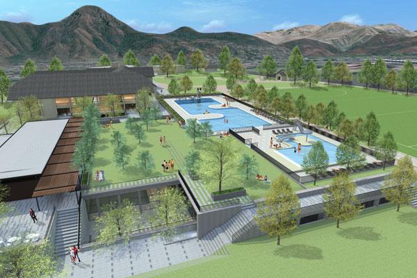 Instalaciones club manquehue plan maestro arquitectos - Proyecto club deportivo ...