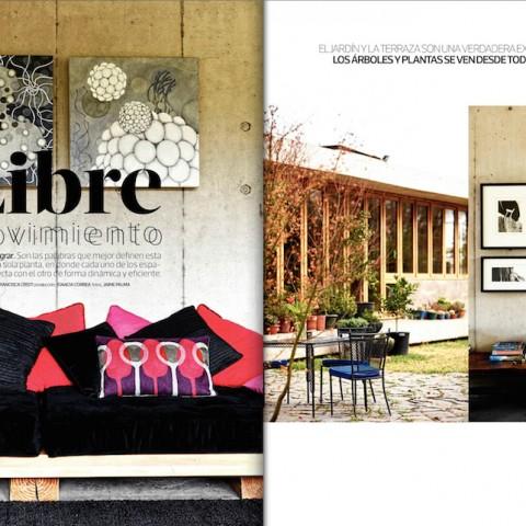 Casa en Peñalolén publicada en La Tercera